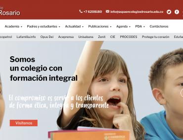 Sitio web – Colrosario