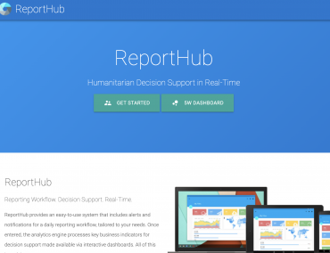 ReportHub development support – iMMAP
