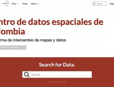 Centro de datos espaciales de Colombia – iMMAP